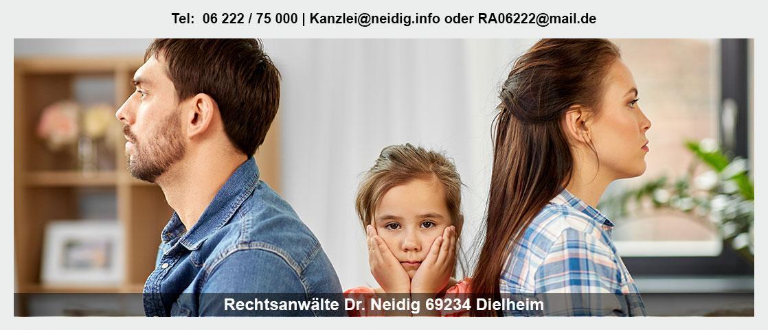 Erbrecht bei Heilbronn - Kanzlei Dr. Jürgen Neidig: Verteilung Erbe, Familienrecht, Vorsorgevollmacht